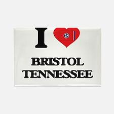 I love Bristol Tennessee Magnets