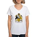 Phillimore Family Crest Women's V-Neck T-Shirt