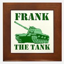 Funny Frank Framed Tile