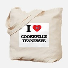 I love Cookeville Tennessee Tote Bag