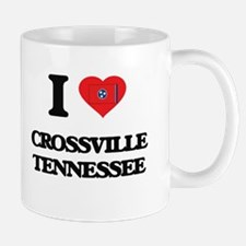 I love Crossville Tennessee Mugs