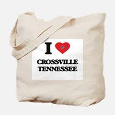 I love Crossville Tennessee Tote Bag