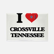 I love Crossville Tennessee Magnets