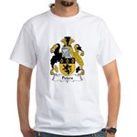 Peters Family Crest White T-Shirt