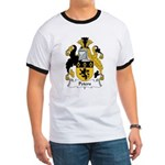 Peters Family Crest Ringer T