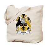 Peters Family Crest Tote Bag