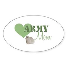 Mom Oval Decal