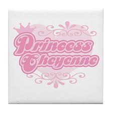 """""""Princess Cheyenne"""" Tile Coaster"""
