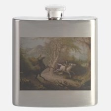 Vintage Art of Sleepy Hollow Flask