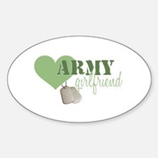 Girlfriend Oval Decal