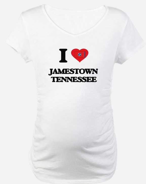 I love Jamestown Tennessee Shirt