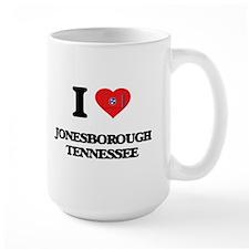 I love Jonesborough Tennessee Mugs