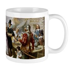 The First Thanksgiving Mugs