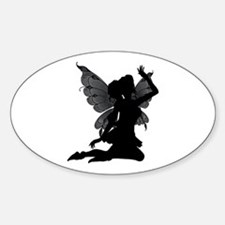 FAERY/BUTTERFLY 1 Oval Decal