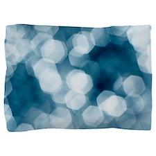 Blue abstract Pillow Sham