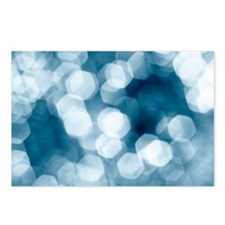 Blue abstract Postcards (Package of 8)