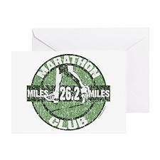 Marathon Club- Congratulations Card