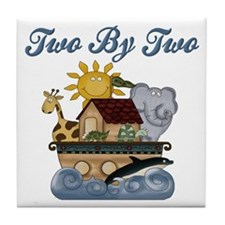 Two by Two Tile Coaster