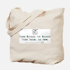 Think Outside the Dogbox Tote Bag