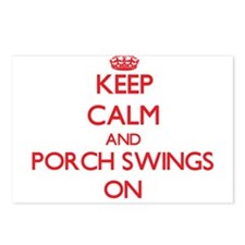 Keep Calm and Porch Swing Postcards (Package of 8)