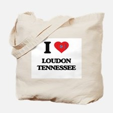 I love Loudon Tennessee Tote Bag