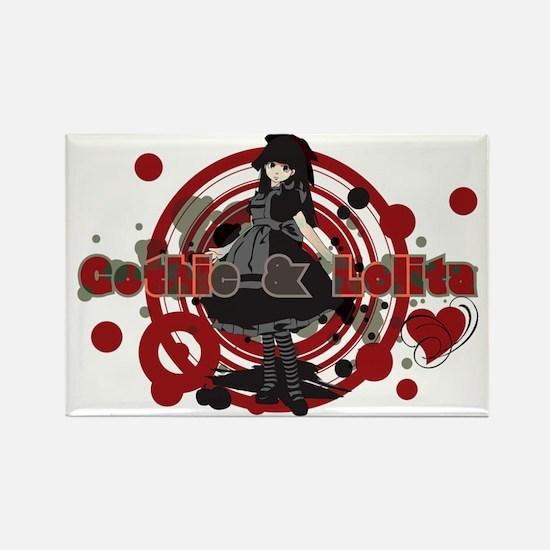 Gothic_&_Lolita Rectangle Magnet