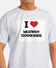I love Mcewen Tennessee T-Shirt