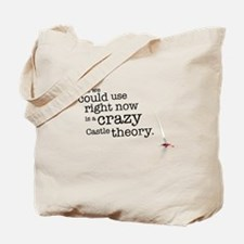 A crazy Castle theory Tote Bag