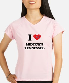 I love Midtown Tennessee Performance Dry T-Shirt