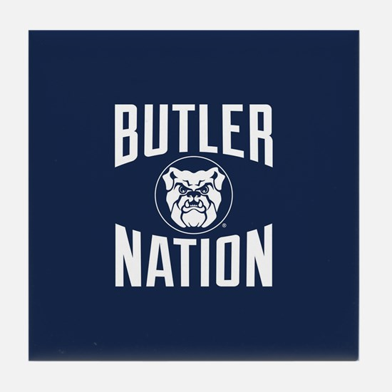 Butler Bulldogs Nation Tile Coaster