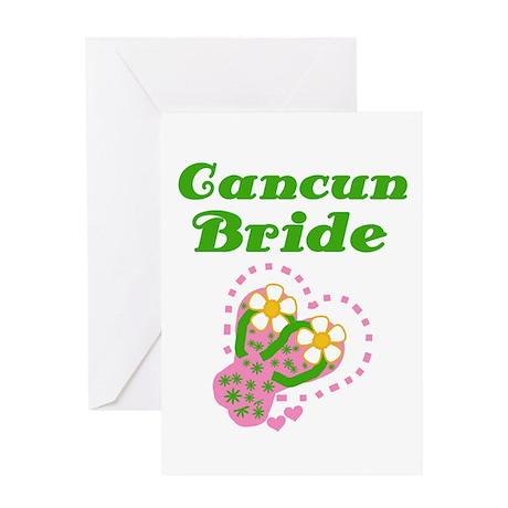 Cancun Bride Greeting Card