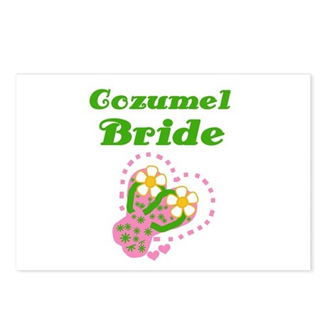 Cozumel Bride Postcards (Package of 8)
