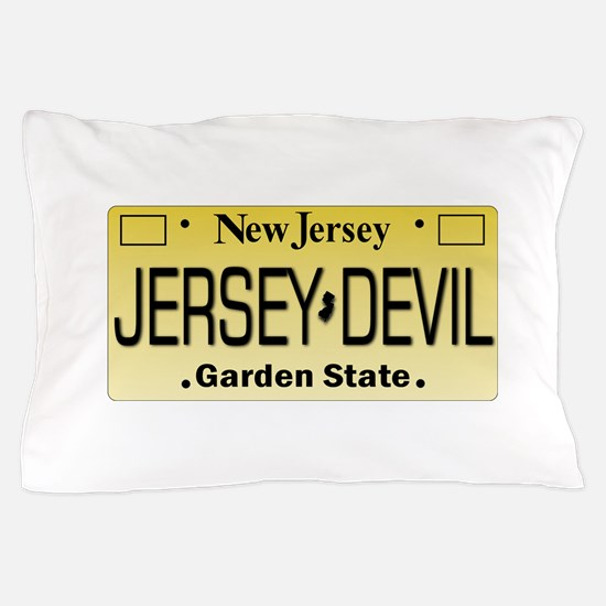 Jersey Devil NJ Tag Gifts Pillow Case