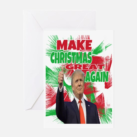 Cute Christmas republicans Greeting Card
