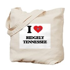 I love Ridgely Tennessee Tote Bag