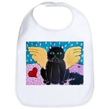 Fluffy Angel Cat Bib