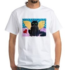 Fluffy Angel Cat Shirt