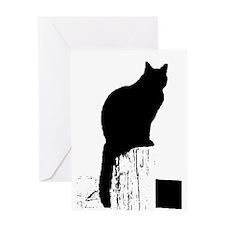 Zen Kitty #2 Greeting Card