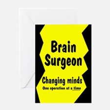 Brain Surgeon Greeting Card