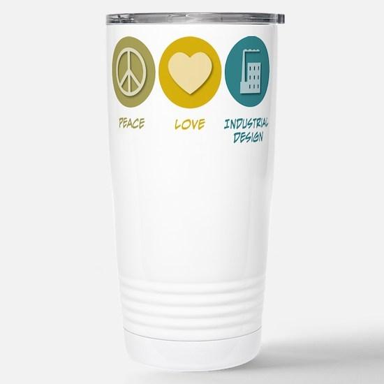 Peace Love Industrial Design Mugs