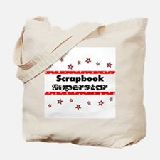 Scrapbook Superstar Tote Bag
