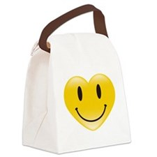 SMIL(E)Y Canvas Lunch Bag