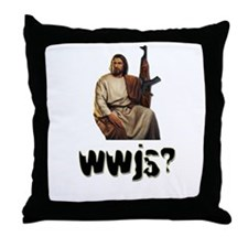 WWJS Throw Pillow