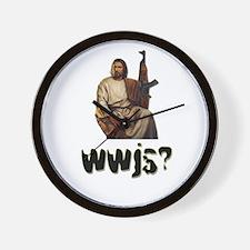 WWJS Wall Clock