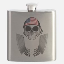 American Butcher Flask