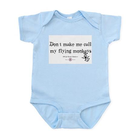 Got flying monkey's? Infant Bodysuit