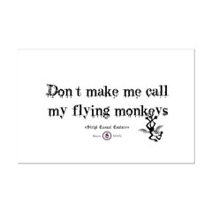 Got flying monkey's? Posters