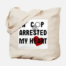 Cop Arrested Tote Bag