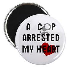 Cop Arrested Magnet
