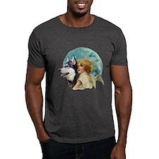 Malamute w/Angel T-Shirt